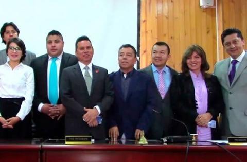 Algunos integrantes de la nueva JAL de Puente Aranda - Foto: Alcaldía Local de Puente Aranda
