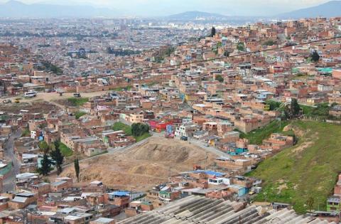 Panorámica de la localidad de Rafael Uribe Uribe - Foto: Redes sociales de la Alcaldía Local de Rafael Uribe Uribe