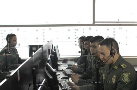 Call Center de la Policía Nacional - Foto: Archivo Policía Nacional