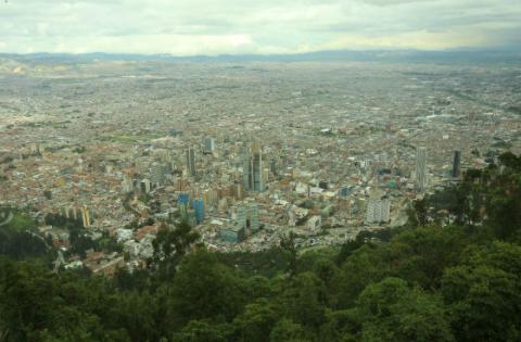 Panorámica Bogotá - Foto: bogota.gov.co