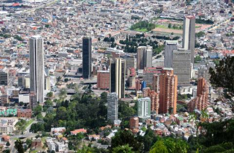 Panorámica de Bogotá - Foto: Flickr.com