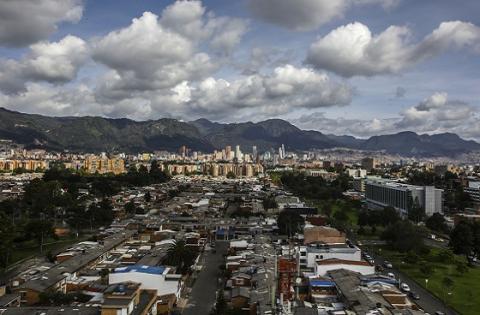 Panorámica  Bogotá - Foto: Prensa Alcaldía Mayor