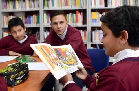 Gestores de lectura colegios Distritales - Foto: Prensa Secretaría de Educación