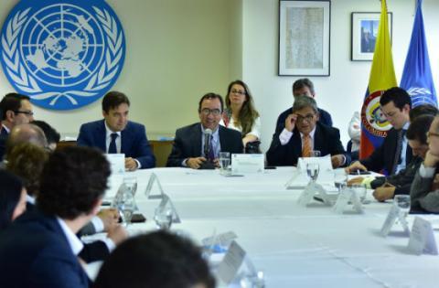 Reunión ONU Hábitat - Secretaría de Planeación - Foto: SDP