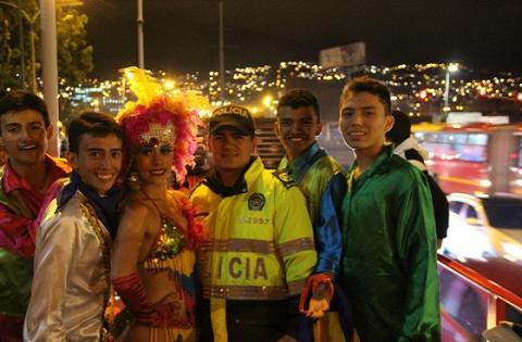 Recomendaciones seguridad halloween - Foto: Prensa Policía Metropolitana