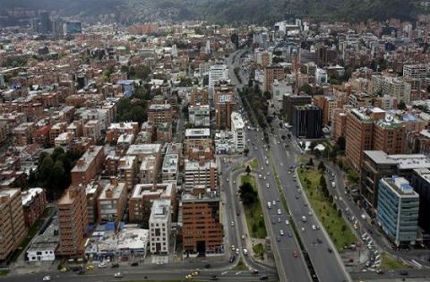 Sobrevuelo Bogotá- Foto: Prensa Alcaldía Mayor de Bogotá