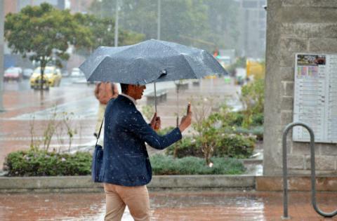 Temporada de lluvias - Foto: Secretaría del Hábitat