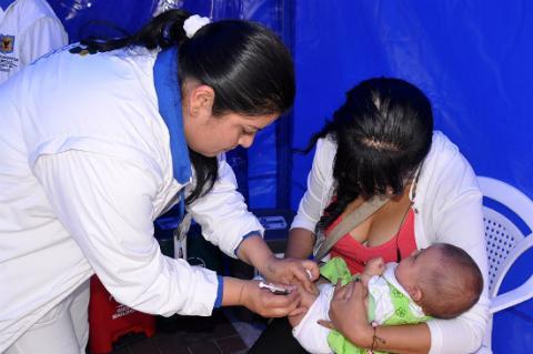 Vacunación - Foto: Prensa Secretaría de Salud