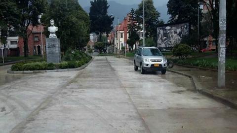 Distrito arregló 142 losas del barrio Palermo