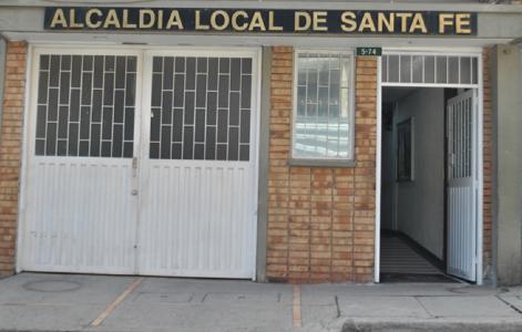 Alcaldía Local de Santa Fe - Foto: Portal Bogotá