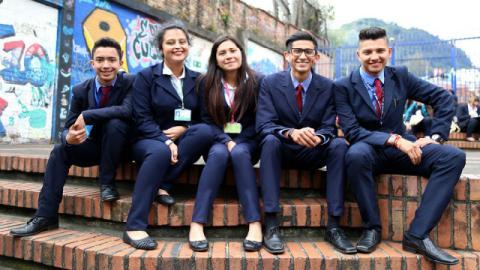 Alumnos SENA - Foto: Secretaría de Educación