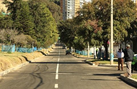 El tramo entregado es desde la carrera 9 hasta la carrera 7.