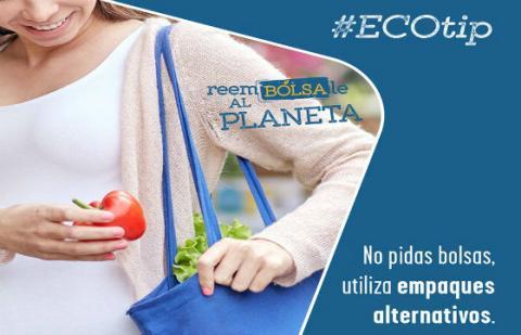 Bolsa plástica - Imagen: Secretaría de Ambiente