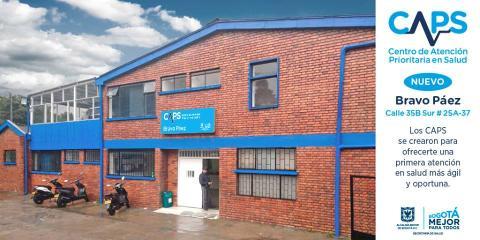 CAPS Bravo Páez - Foto: Empresa de Renovación y Desarrollo Urbano de Bogotá