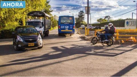 Vía Suba Cota mejora la movilidad -Foto:UMV