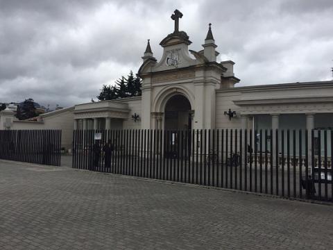 Viaje a la casa de los muertos: el Cementerio Central de Bogotá. Fotos: Alejandra Ramírez