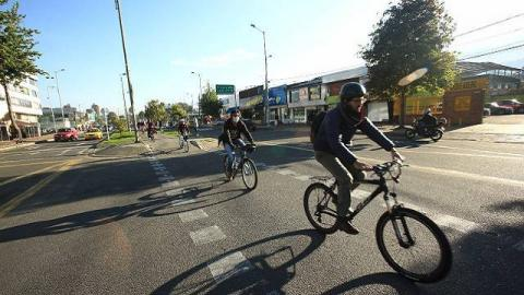 Ciclistas - Foto: Alcaldía Mayor de Bogotá