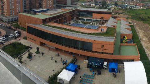 Colegio La Felicidad - Foto Secretaría de Educación