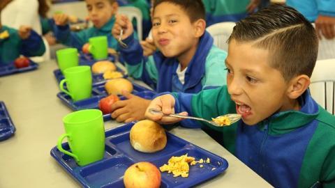 Nuevo comedor escolar en el colegio  Bernardo Jaramillo -Foto: :Alcaldía Mayor de Bogotá -Diego Bauman