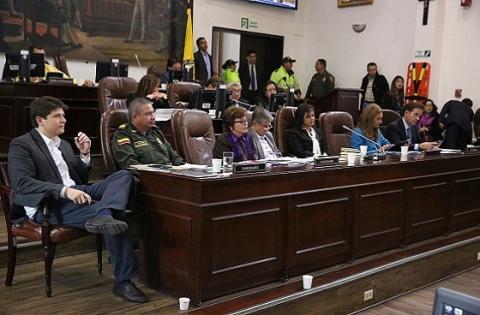 Concejo de Bogotá - Foto: Prensa Secretaría de Gobierno