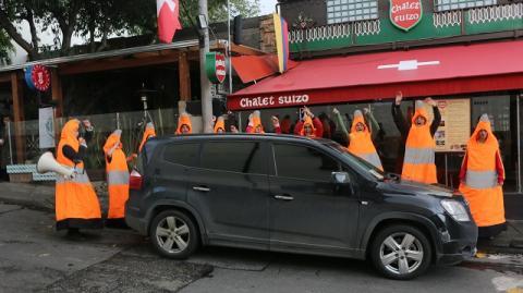 El Poder del Cono ha estado en varias localidades de Bogotá.