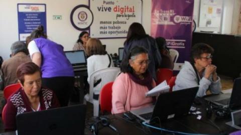 Cursos Punto Vive Digital - Foto: Alcaldía Local de Bosa