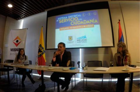 Primera reunión plenaria de la Red Distrital de Quejas y Reclamos 2016