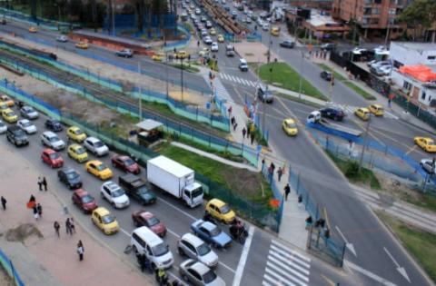 Deprimido calle 94 - Foto: davidluna.com.co
