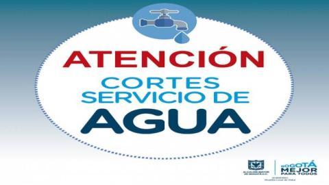 Cortes de agua - Foto: Alcaldía Local de Suba