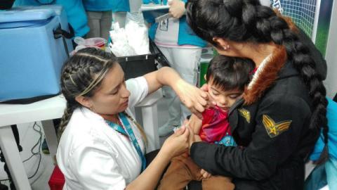Enfermera - Foto: Secretaría de Salud