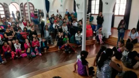 Escuela de formación artística - Foto: Alcaldía Local de Barrios Unidos