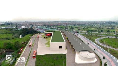 TransmiCable - Estación Portal El Tunal - Foto: IDU
