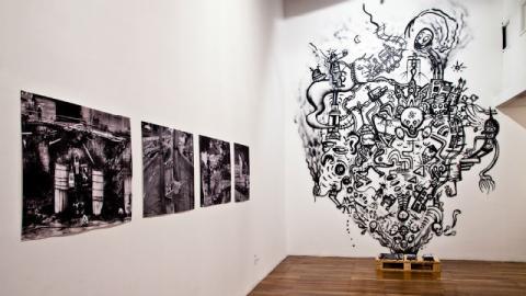 Exposiciones en La Fuga - Foto: FUGA
