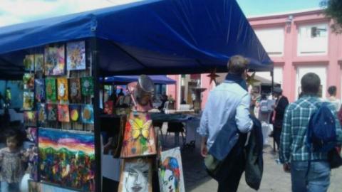 Feria en Chorro de Quevedo - Foto: Alcaldía Local de la Candelaria