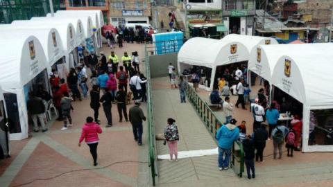 Feria en Ciudad Bolívar - Foto: Feria de Servicio al Ciudadano