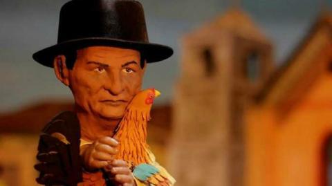 Obra el Gallo de Oro con la compañía teatral Los animalistas