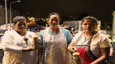 Ganadoras Festival de la Chicha 2018 - Foto: Alcaldía Local La Candelaria