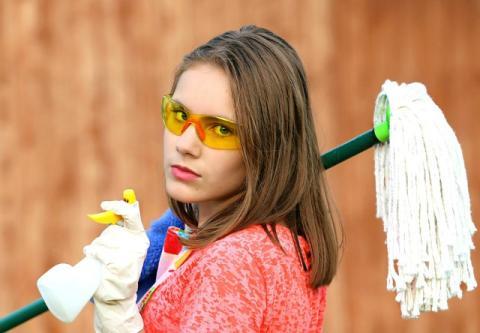 80 vacantes para auxiliar de limpieza - Foto: Pixabay