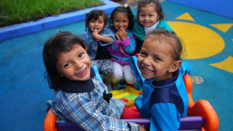 Niños en jardín infantil - Foto: Secretaría Social