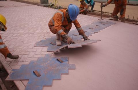 Obras en el Eje Ambiental