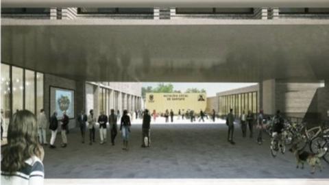 Propuesta arquitectónica para la Alcaldía Local de Santa Fe - Foto: Alcaldía Local de Santa Fe