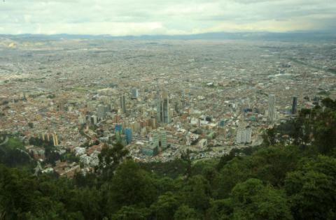La calidad del aire en Bogotá es normal