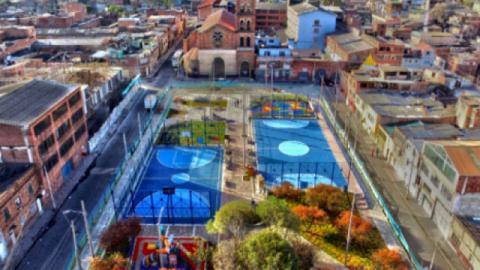 Parque Santander - Foto: Alcaldía Local de Antonio Nariño