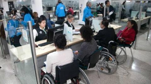Personas con discapacidad - Foto: Secretaría Integración Social