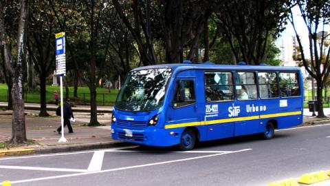 Buses azules del SITP - Foto: Sistema Integrado de Transporte Público (SITP)
