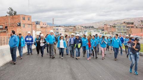 Recorrido en Bosa - Foto: Comunicaciones Alcaldía Mayor - Andrés Sandoval