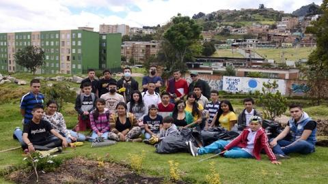 Alumnos del colegio José Félix Restrepo - Foto: Secretaría Distrital de Educación