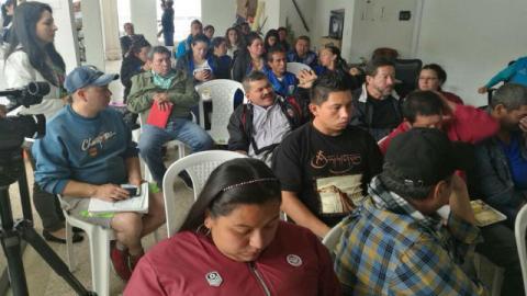 Reunión UAESP y comunidad - Foto: UAESP