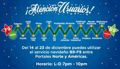 El 19 de diciembre celebre en el Portal de Suba las fiestas de Navidad
