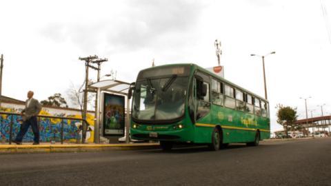 Ruta Alimentadora - Foto: TransMilenio